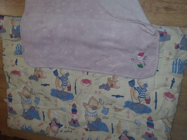 Одеяло детское 125х90см + одеялко