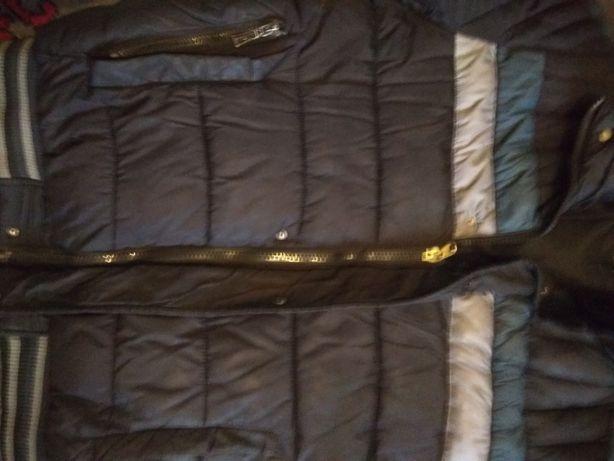 Зимняя курта большой размер