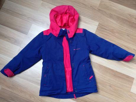 Kurtka zimowa dla dziewczynki, quechua 98-104cm