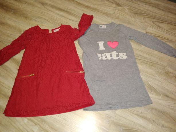 Sukienki H&M 4-6 lat