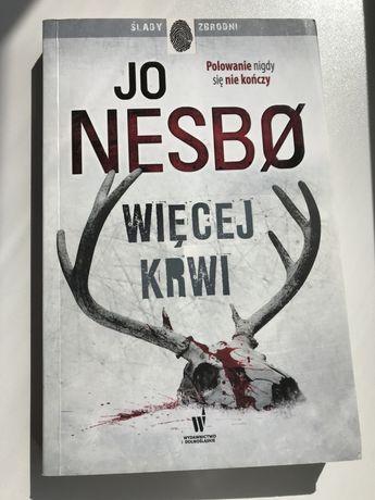 Więcej krwi -Jo Nesbo, stan bardzo dobry