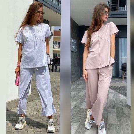 Женская одежда костюм туника брюки большие размеры 44 - 64р.++