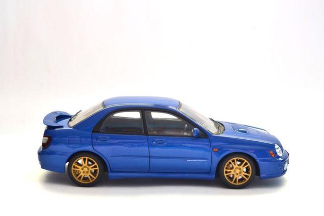 1 18 AUTOart Subaru Impreza WRX STi 2001 - Blue