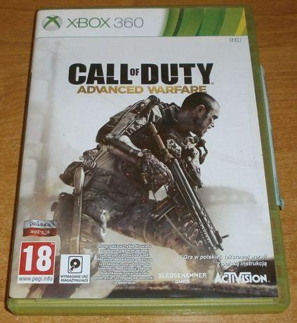 Call of Duty Advanced Warfare Polska Wersja Xbox 360 BARDZO DOBRY ST