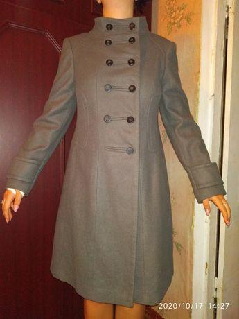 Пальто Zara XL новое без бирки 70% шерсть
