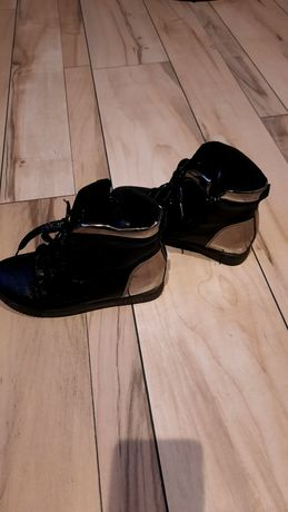 Buty Czarne świecące