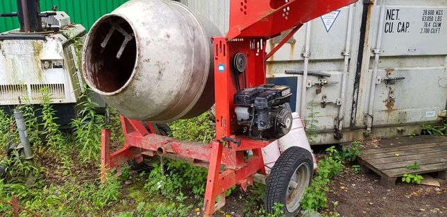 Betoniarka spalinowa silnik Subaru stan bdb
