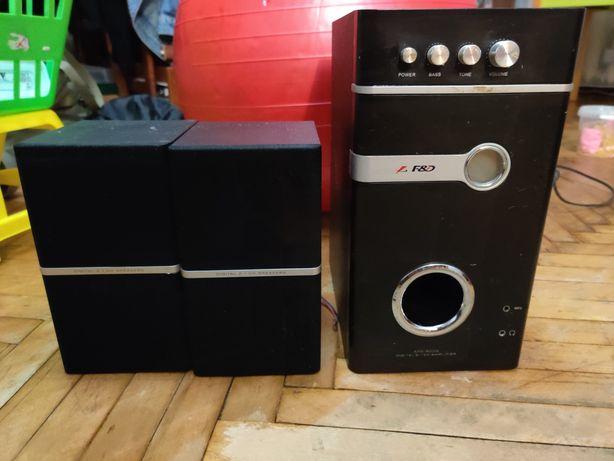 Продам акустику (колонки и сабвуфер) 2.1 F&D SPS 800g