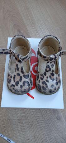 Sandałki w panterkę Emel rozmiar 20
