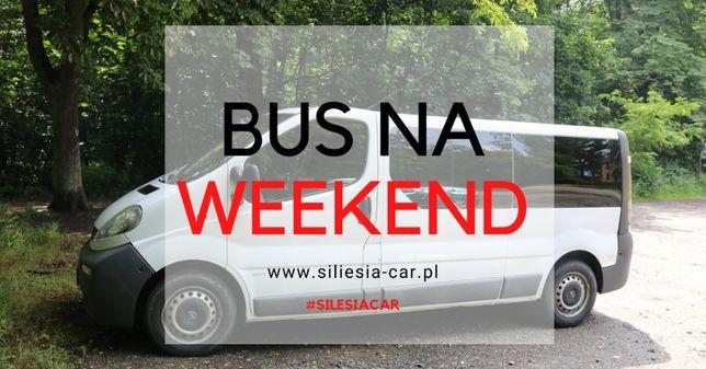 [Wynajem] Bus 9 Osobowy - Opel Vivaro | Wolne Terminy - 2020