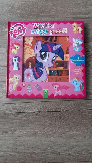 Wielka ksiega puzzli My Little Pony