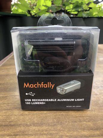 Велофонарь, фара для велосипеда, фонарик, USB, на аккумуляторе