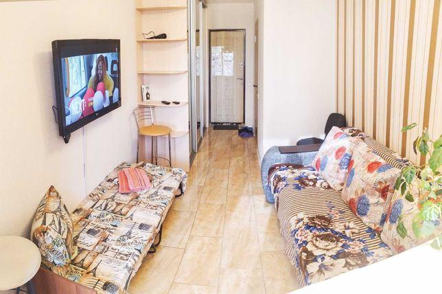 ЖК Акварели посуточно теплая, уютная для 2-3 человек