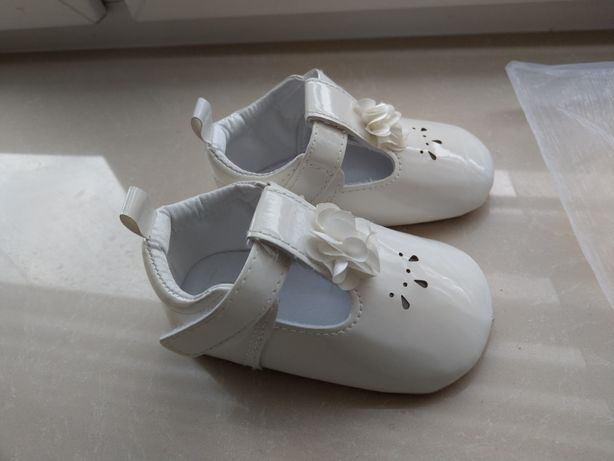Buty do chrztu r.21 Smyk wkładka 13cm
