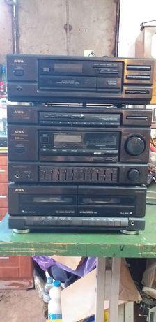 Wieża audio cd i kasety