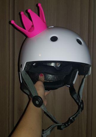 Корона украшение аксессуар для шлема лыжного вело