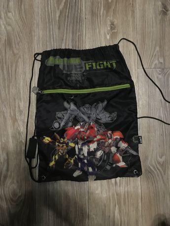 сумка для физкультуры с трансформерами