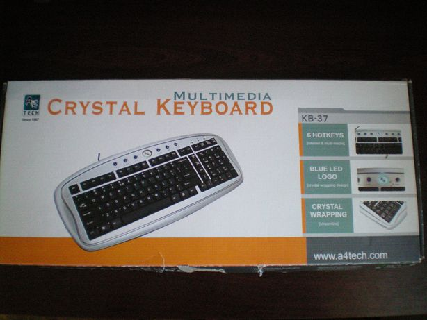 Клавиатура компьютерная KEYBOARD с круглым разъёмом