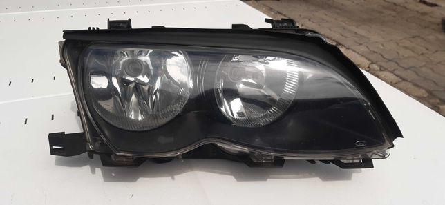 Lampa przód prawa BMW E46 uszkodzona