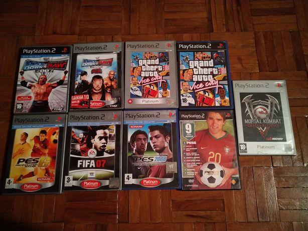 Jogos para PlayStation 2 e pc