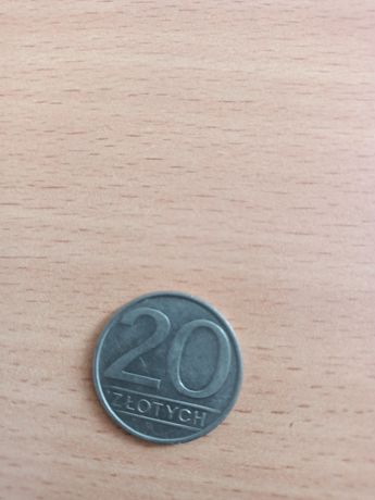 Sprzedam monetę 20 zł 1986 rok