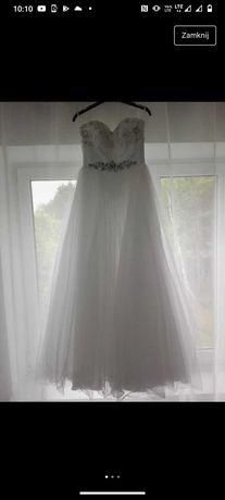 Suknia ślubna dla drobnej panny młodej