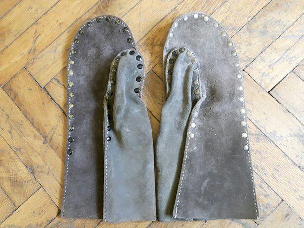 Rękawice hutnicze Huta spawalnicze skórzane