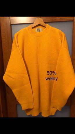 Sweter 50% wełny