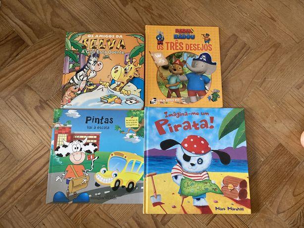 Livros infantis para todos os gostos