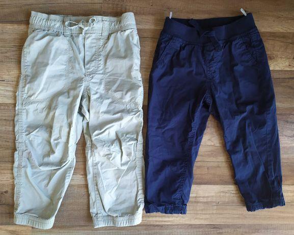 2 pary spodni chłopięcych H&M i C&A rozm. 92