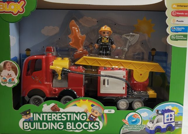 klocki strażak straż pożarna bloks