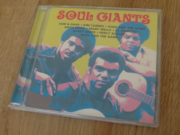 Płyta CD - Soul Giants Sam & Dave Kim Carnes Kool and The Gang,