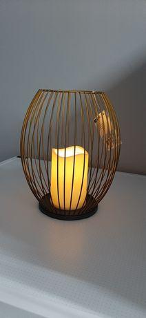 Ночник светильник светодиодная свеча с имитацией пламени Германия