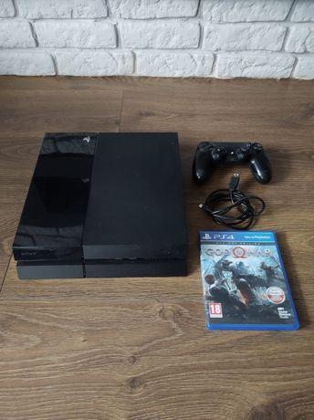 Konsola ps4, Playstation4, okablowanie,pad oryginalny, stan bdb