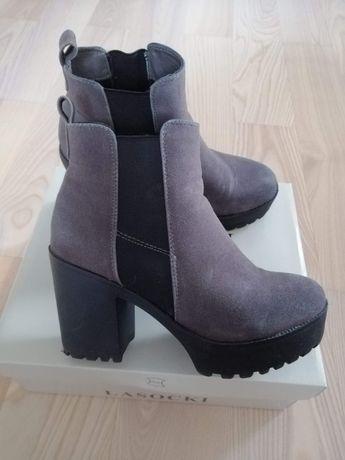 Buty zamszowe RE