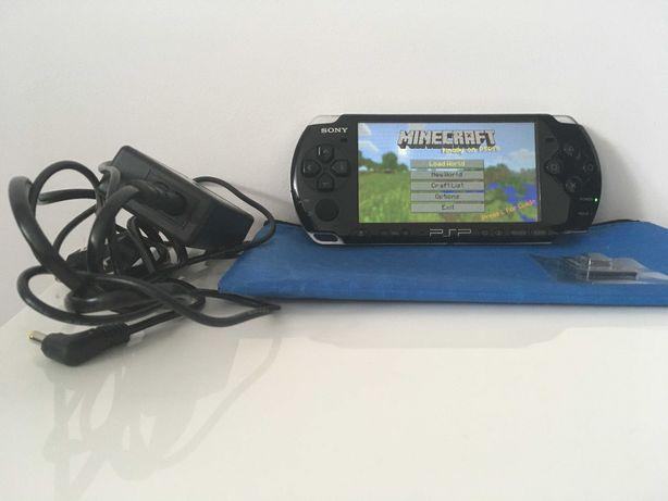 Konsola SONY PSP 3004 PL Menu, WiFi, Etui karta 32GB