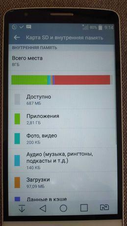Продам телефон LG G3 Stylus