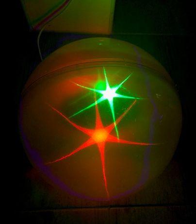 Lampa świecąca kula do pokoju dziecka