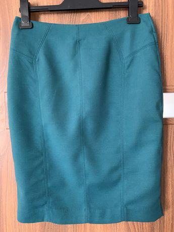 Spódnica Reserved rozm. 36/S butelkowa zieleń