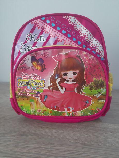 Детский рюкзак сумка портфель рюкзак для девочки