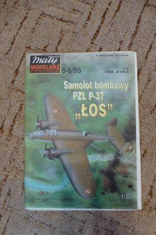 Mały modelarz 5-6/95 Samolot bombowy Łoś