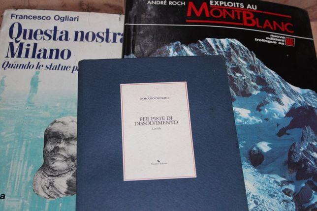 Album Mont Blanc fr. i dwie - włoski Questa nostra Milano
