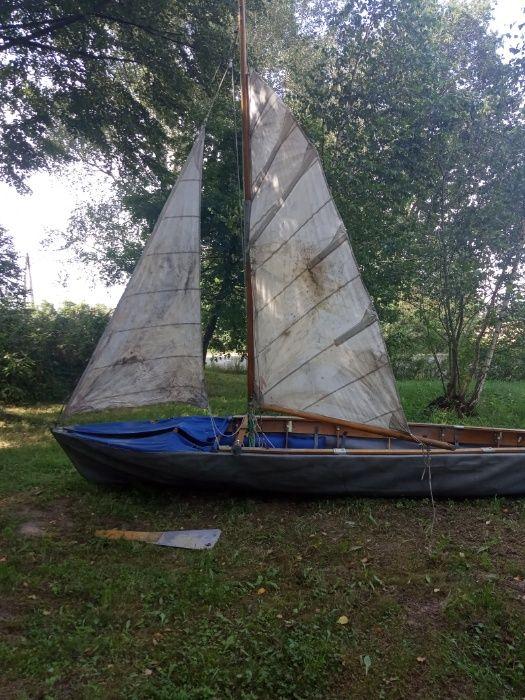 łódż żaglowo wiosłowa Zasole Bielańskie - image 1