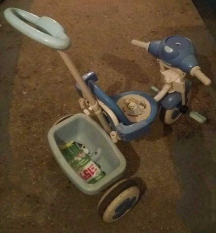 Дитячий триколісний велосипед музичний