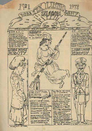 "Dodatek ilustrowany Szlaban nr 1 do Komunikatu KSS ""KOR"" 1978"