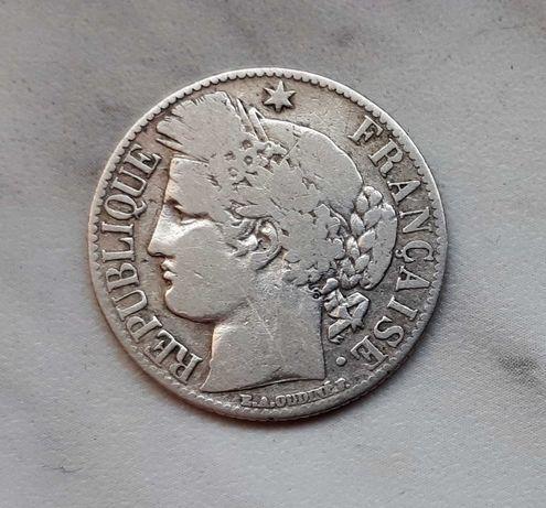 158) FRANCJA - 1 Franc - 1872 r.