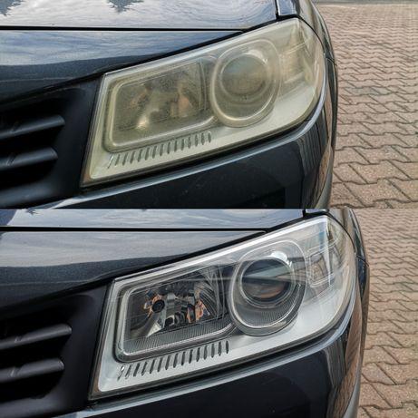 Polerowanie Regeneracja reflektorów/lamp samochodowych