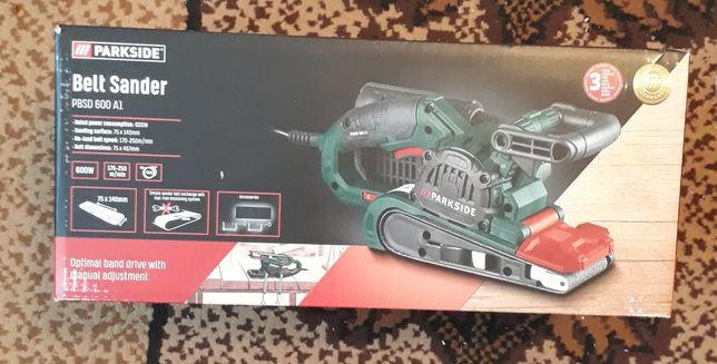 Ленточная шлифовальная машина PARKSIDE® PBSD 600 A1