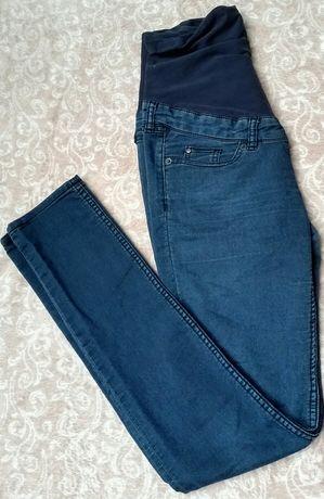 Jeansy ciążowe H&M mama skinny rurki s 36