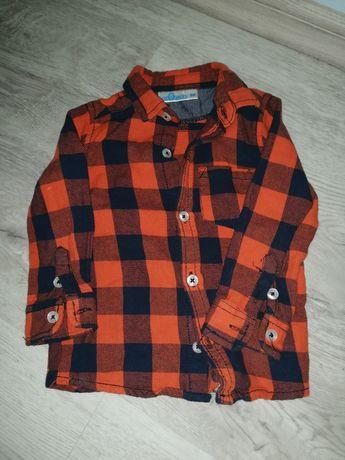 Koszula w kratę rozmiar 86